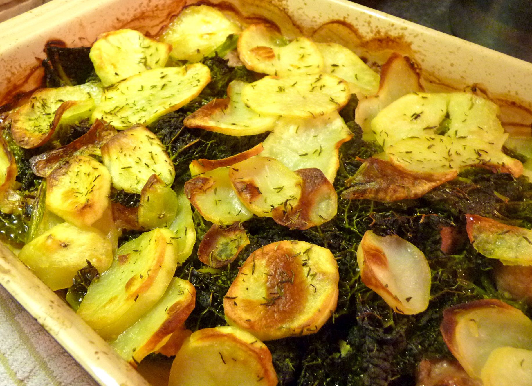 Kale And Potato Gratin Recipes — Dishmaps