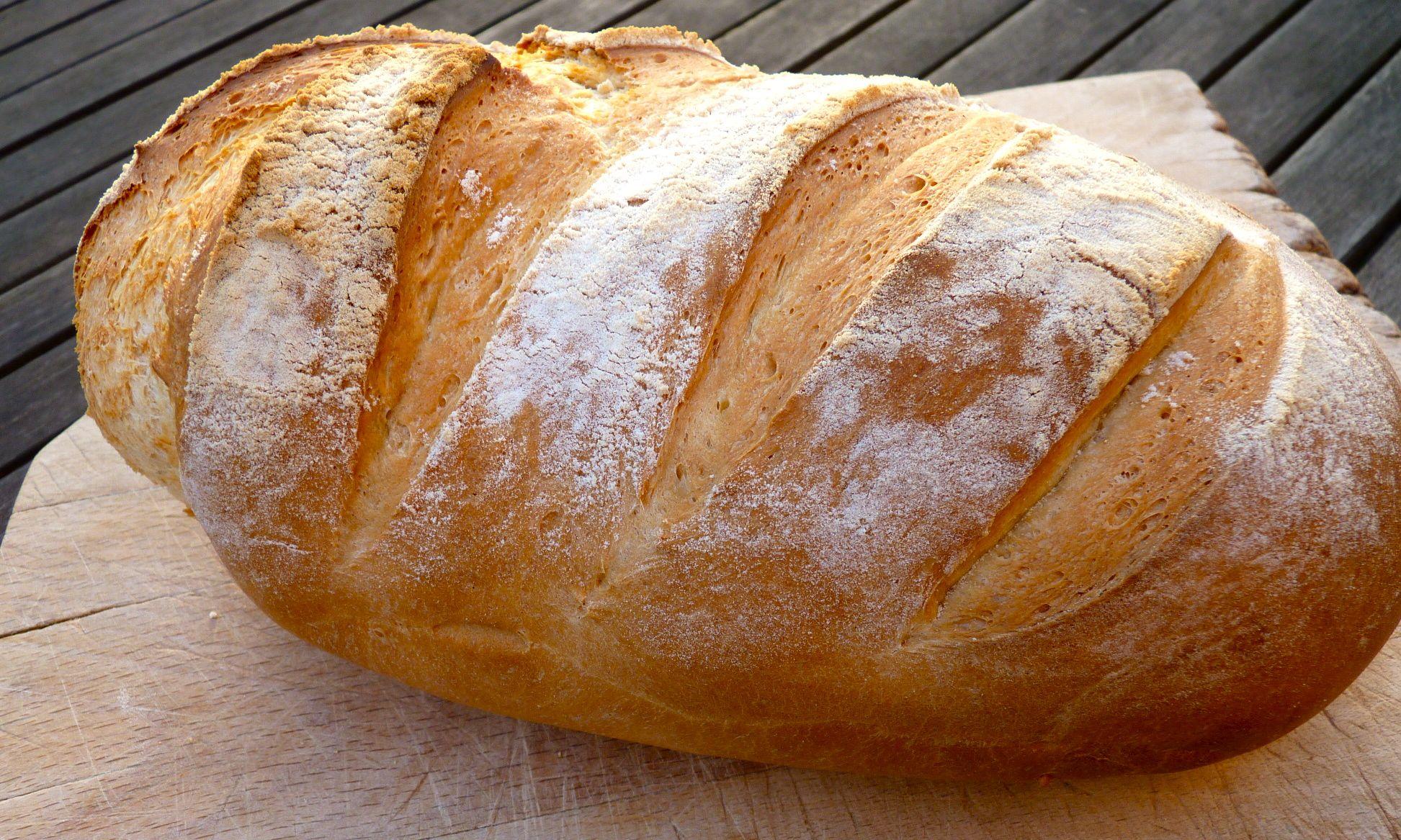 Как из хлеба сделать тесто