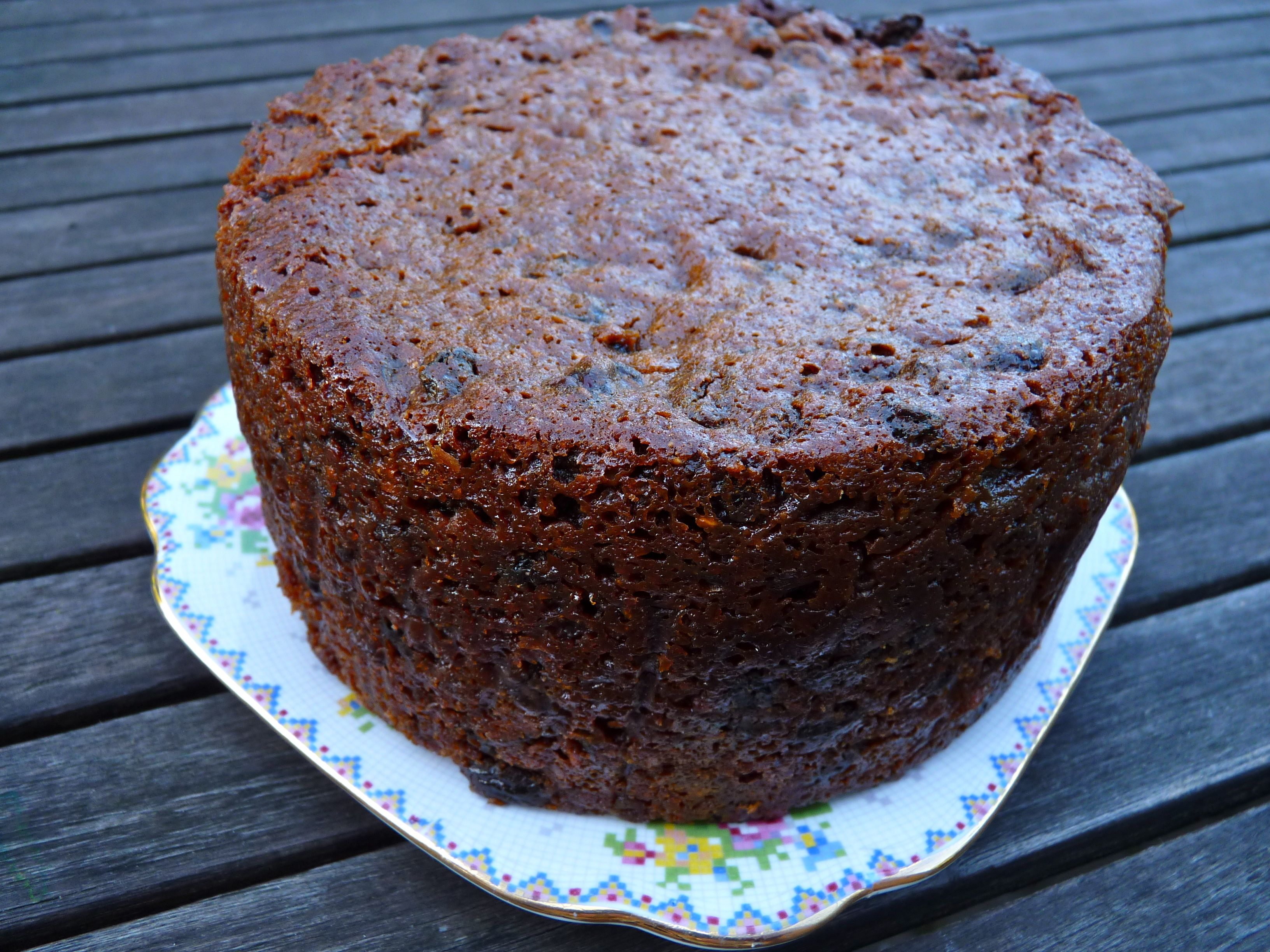 Boiled Fruit Cake The Ordinary Cook