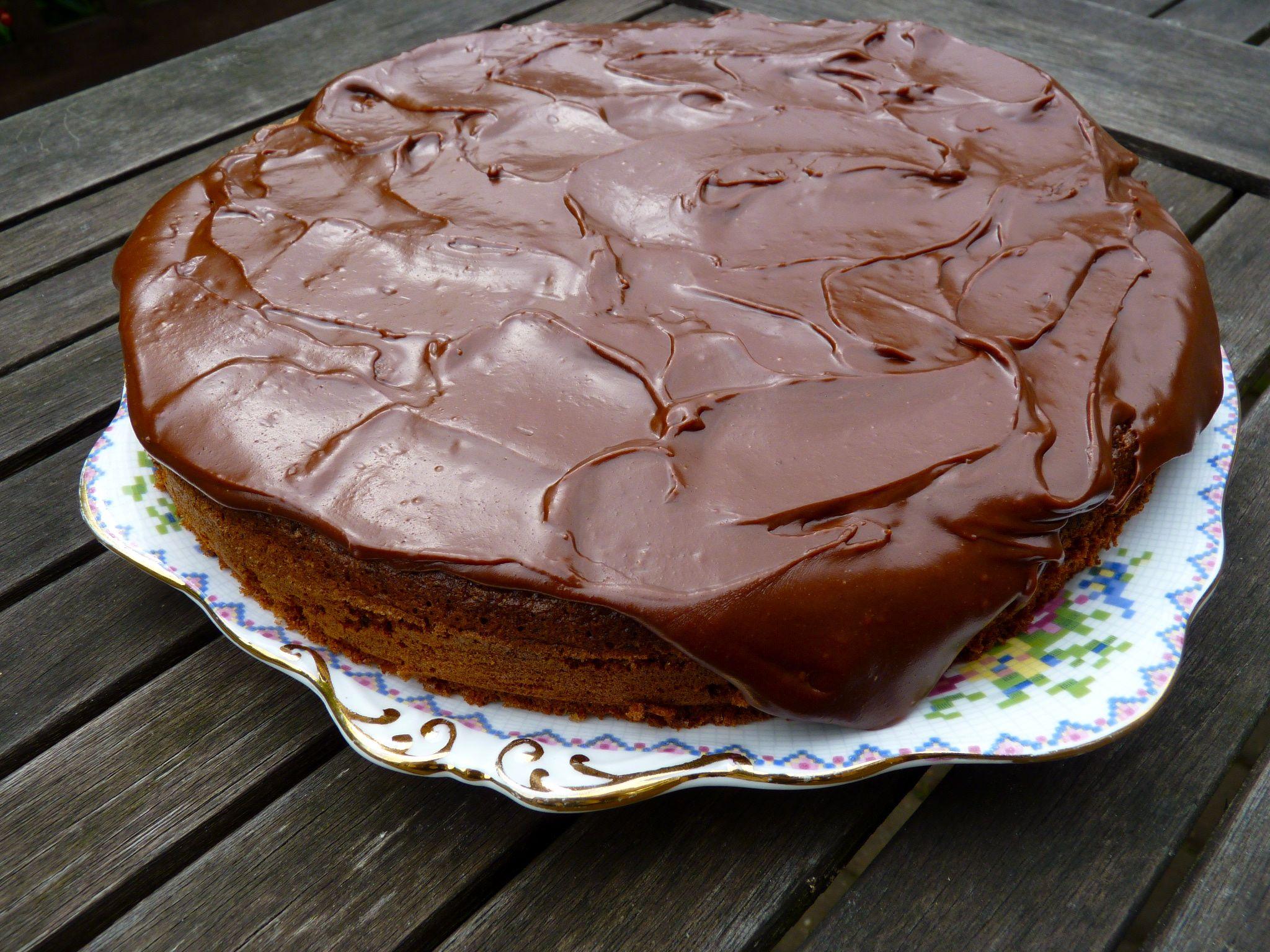 Nut And Chocolate Gateau Recipes — Dishmaps