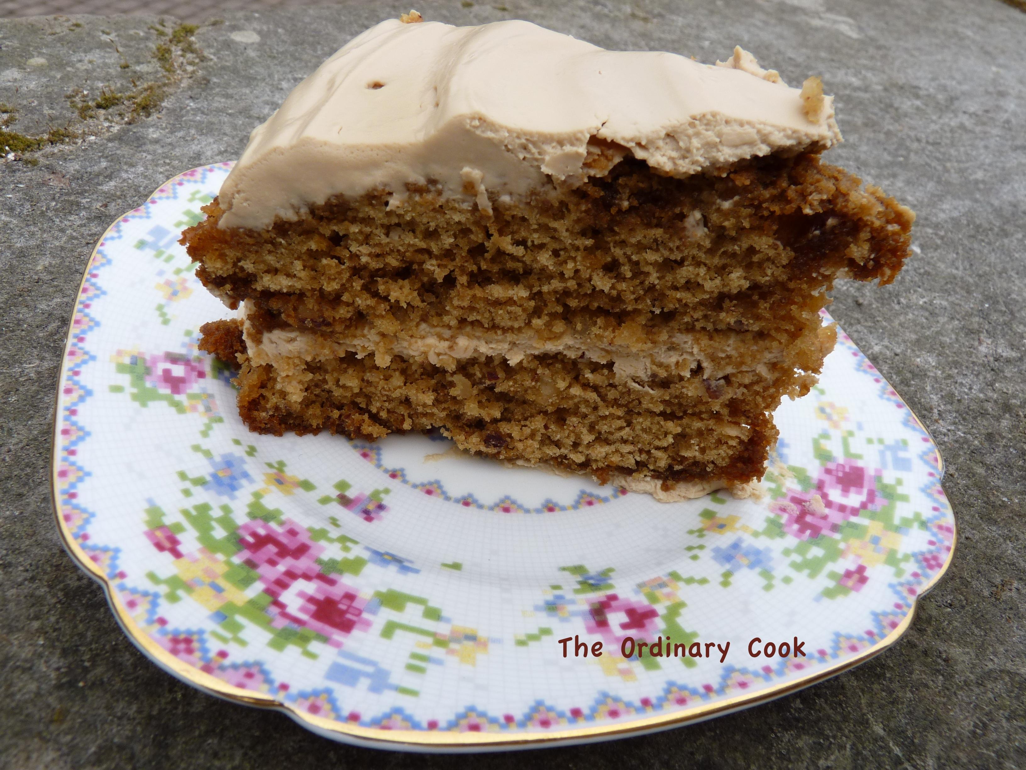 Hazelnut Cake Recipes Uk: Coffee And Hazelnut Cake