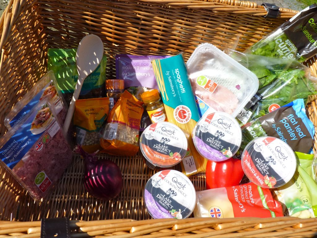 Quark hamper