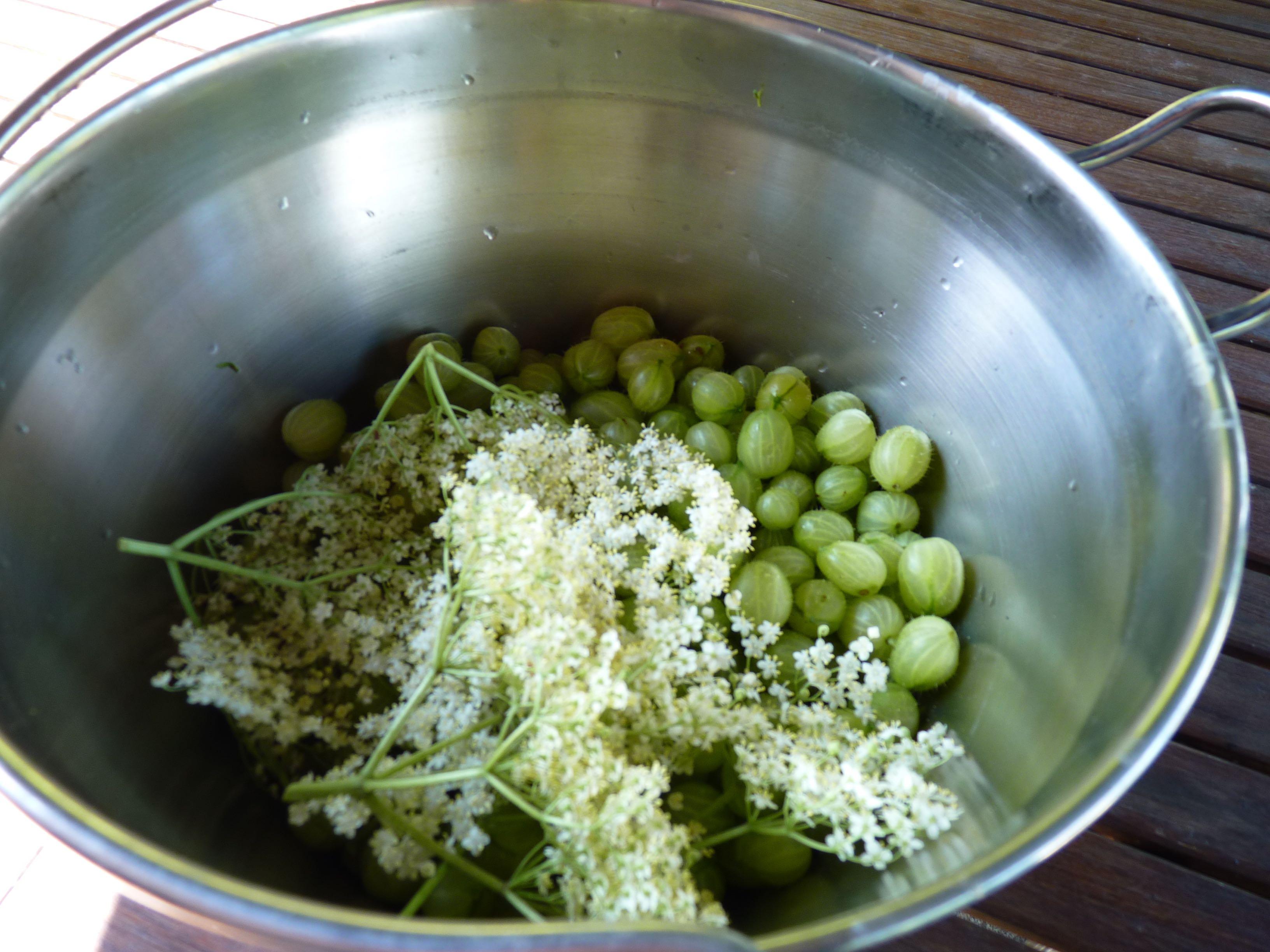 Gooseberry and elderflower jam | The Ordinary Cook