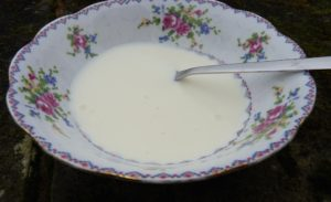 Homemade yoghurt